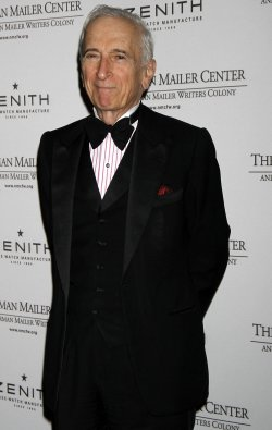 Gay Talese arrives for the Norman Mailer Center's Third Annual Benefit Gala in New York