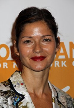 Jill Hennessy arrives for the Can-Do Awards in New York