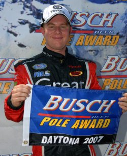 NASCAR BUSCH SERIES WINN DIXIE 250 QUALIFYING IN DAYTONA BEACH