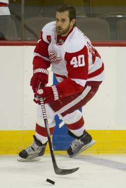 Red Wings Zetterberg Skates in Denver