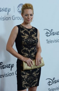Jeri Ryan attends the Disney ABC Television Group Party in Beverly Hills