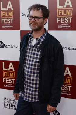 "Actor Rainn Wilson attends the ""Middle of Nowhere"" premiere in Los Angeles"