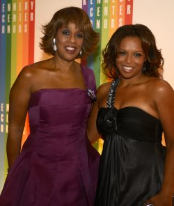 Gayle King and daughter Kirby arrive for 2013 Kennedy Center Honors Gala in Washington DC