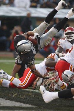 Oakland Raiders vs Kansas City Chiefs in Oakland, California