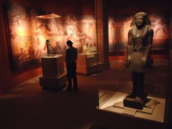 """TUTANKHAMUN AND THE GOLDEN AGE OF THE PHARAOHS"" EXHIBIT"