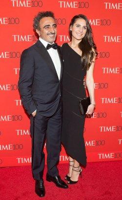 Hamdi Ulukaya arrives at the TIME 100 Gala in New York