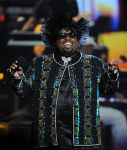Cee-Lo Green performs at the BET Awards in Los Angeles