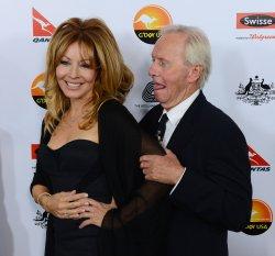 Linda Kozlowski and Paul Hogan attend G'Day USA gala in Los Angeles