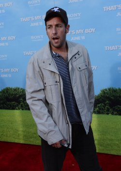 "Adam Sandler attends the premiere of ""That's My Boy"" in Los Angeles"