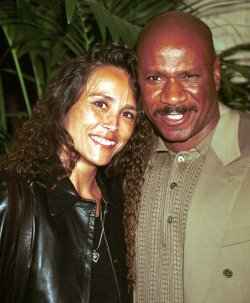 Ving Rhames and Debra Reed