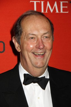 Bill Bradley arrives for the Time 100 Gala in New York