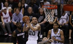 Miami Heat vs San Antonio Spurs in the NBA Finals in San Antonio