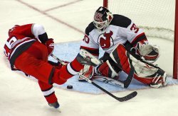 NHL Eastern Conference Quarterfinals New Jersey Devils vs Carolina Hurricanes in Raleigh, N.C.