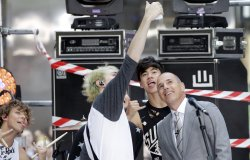 5 Seconds of Summer on the NBC Today Show in New York
