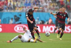 2014 FIFA World Cup Group G - USA v Germany