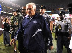 Dallas Cowboys' head coach Wade Phillips in Washington