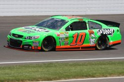 Danica Patrick is a rookie again at the Indianapolis Motor Speedway