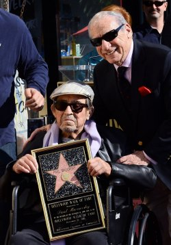 Paul Mazursky honored with star on the Hollywood Walk of Fame in Los Angeles