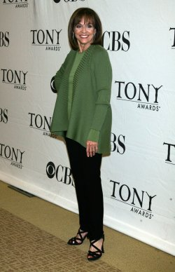 Valerie Harper arrives for the 2010 Tony Awards Meet the Nominees Press Reception in New York