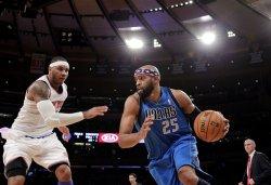 Knicks vs Mavericks at Madison Square Garden