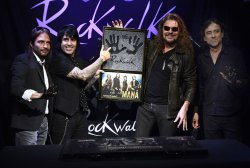 Mana inducted into Guitar Center's RockWalk in Hollywood