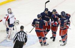 Rangers vs Capitals at Madison Square Garden