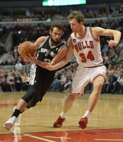 San Antonio Spurs vs. Chicago Bulls