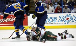 MINNESOTA WILD VS ST. LOUIS BLUES HOCKEY