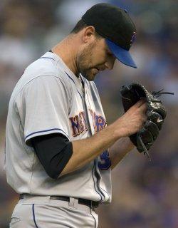 Mets Pitcher Pelfrey Takes Loss Against Rockies in Denver