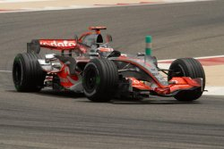 TIME TRIALS FOR FORMULA ONE GRAND PRIX IN BAHRAIN