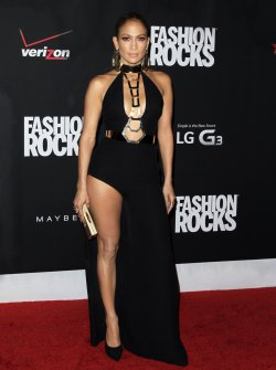 Fashion Rocks Red Carpet