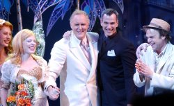 "JOHN LITHGOW OPENS IN BROADWAY MUSICAL ""DIRTY ROTTEN SCOUNDRELS"""