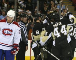 Pittsburgh Penguins vs Montreal Canadiens