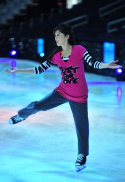 Kristi Yamaguchi performs at Kaleidoscope in Washington