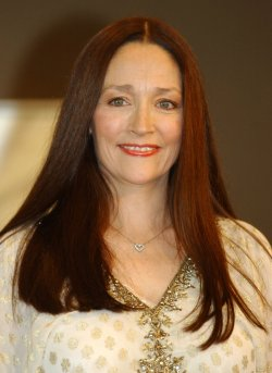 OLIVIA HUSSEY PROMOTING 'MOTHER TERESA'