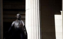 George Washington statue at Federal Hall