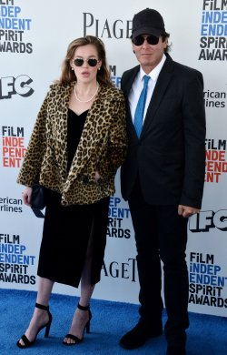Brit Eastwood and Ron Curtis attend Film Independent Spirit Awards in Santa Monica, California