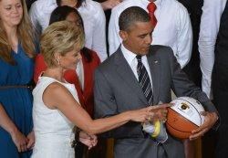 President Barack Obama honors the 2012 NCAA Women's Basketball Champion Baylor Bears in Washington