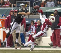 Arizona Cardinals-Philadellphia Eagles NFL football, Week 13.