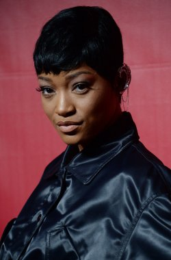 Keke Palmer attends the MusiCares Person of the Year gala in Los Angeles