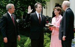 President Bush Swears In Appeals Judge Brett Kavanaugh
