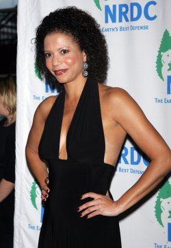 "Gloria Reuben arrives for the Natural Resources Defense Council's 12th Annual ""Forces for Nature"" benefit in New York"