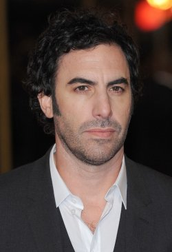 "Sacha Baron Cohen attends The World premiere of ""Les Miserables"" in London."