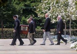 Tony Snow's funeral in Washington