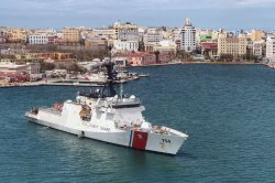 U.S. Coast Guard Cutter James Aids in Hurricane Maria Response in Puerto Rico