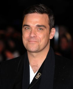 "Robbie Williams attends the ""Brit Awards"""