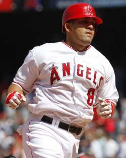Los Angeles Angels vs New York Yankees in Anaheim, California