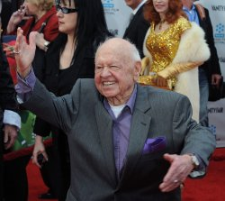 "Micky Rooney attends the 40th anniversary restoration premiere of ""Cabaret"" in Los Angeles"