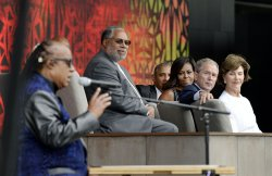 Opening ceremony of African American Museum in Washington