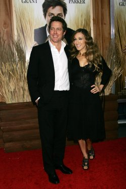"""Hugh Grant and Sarah Jessica Parker arrive for the Premiere of """"Did You Hear About The Morgans"""" in New York"""